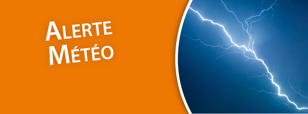 Alerte Orange aux orages !